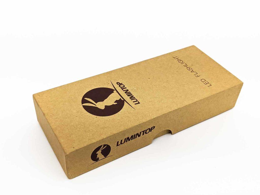 Lumintop flashlight box
