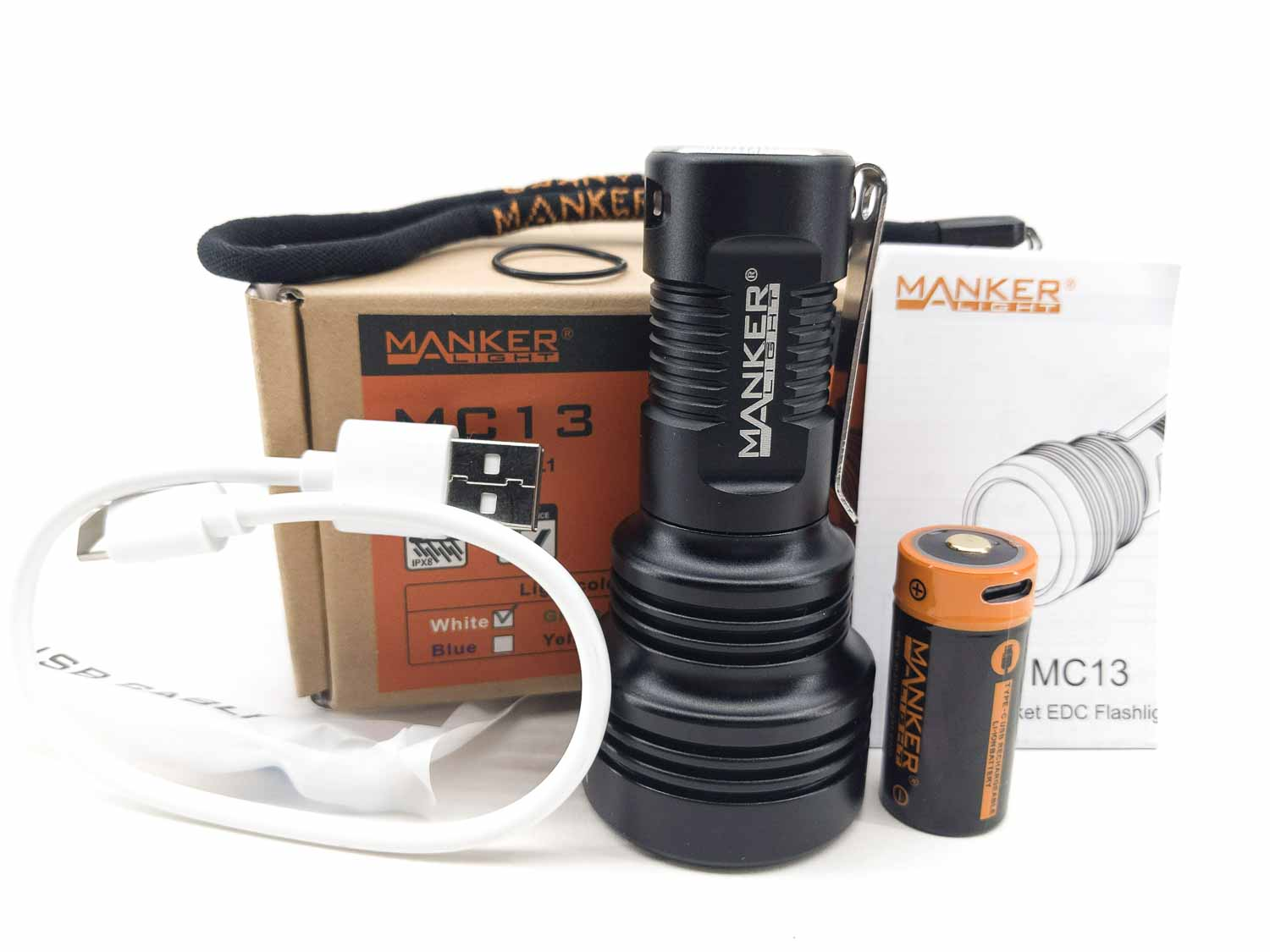 flashlight accessories of Manker MD13