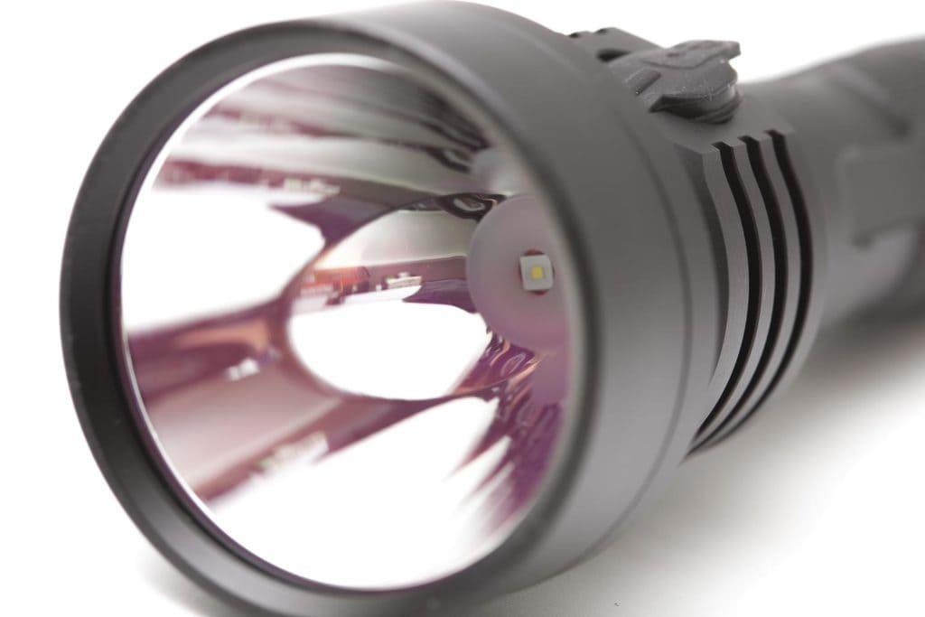 flashlight lens