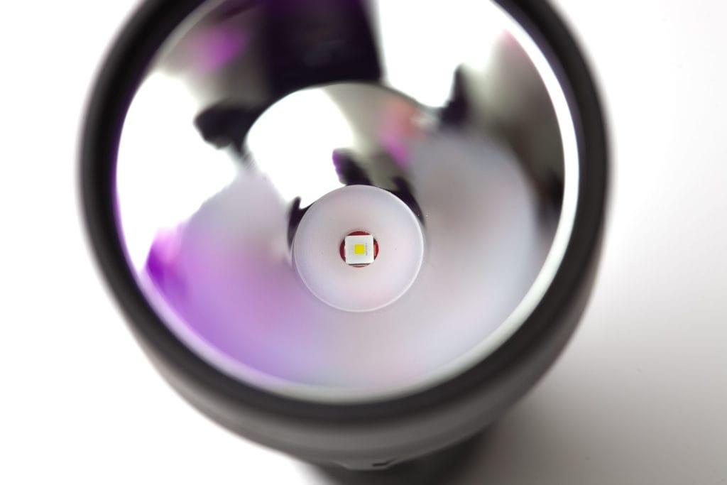 close up of LED