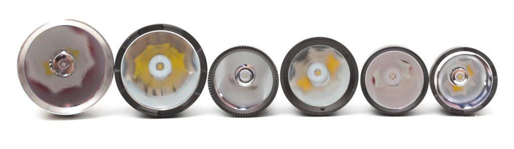 flashlight reflectors