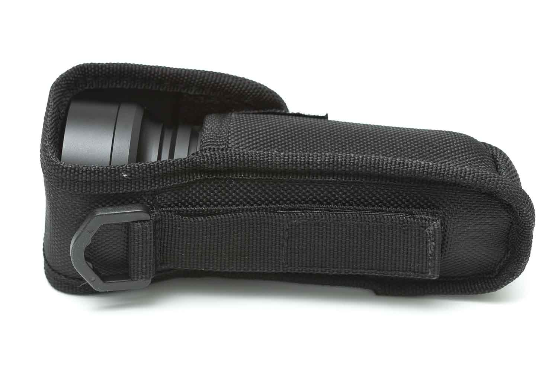 manker flashlight in holster