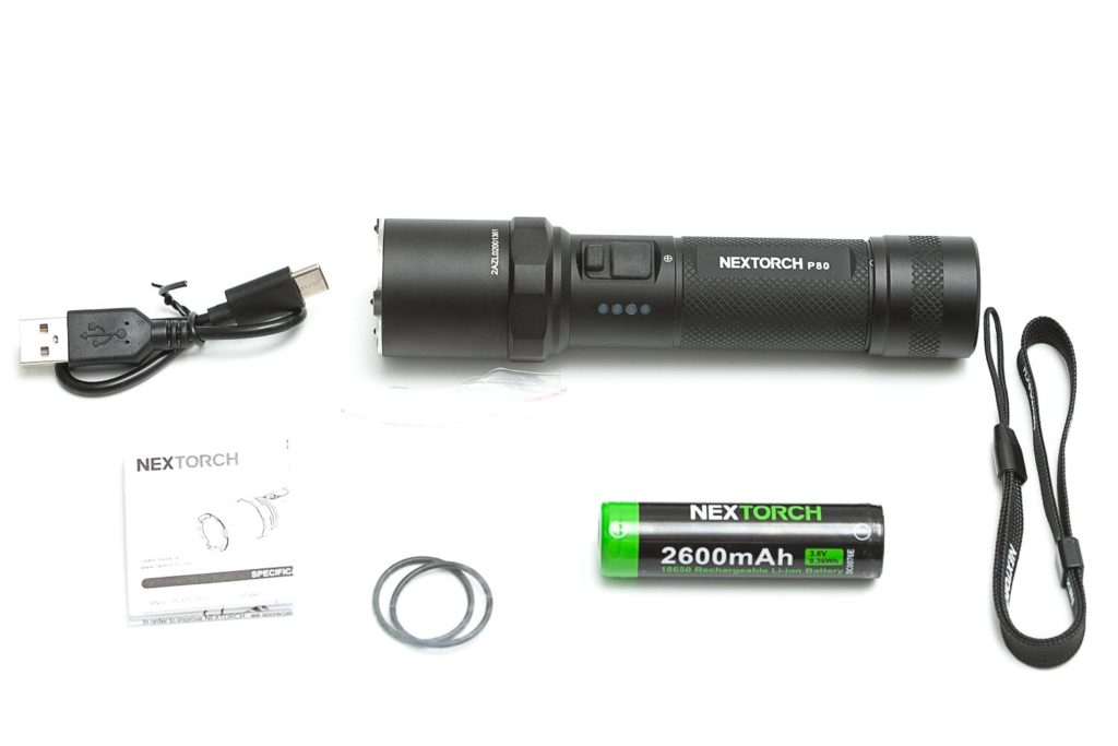 all accessories of nextorch p80