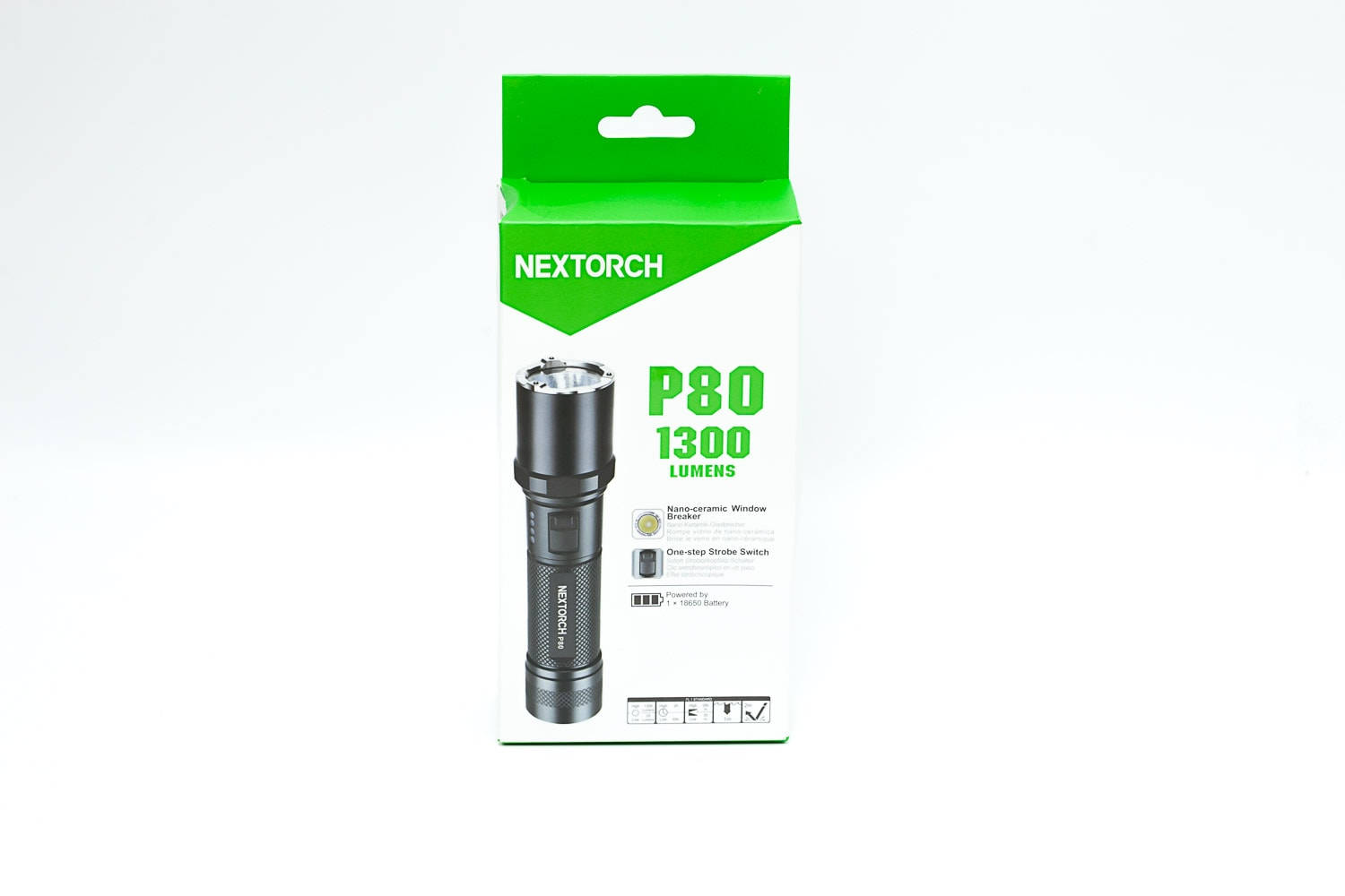 Nextorch P80 package