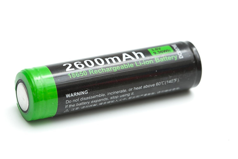 nextorch 2600 mah battery