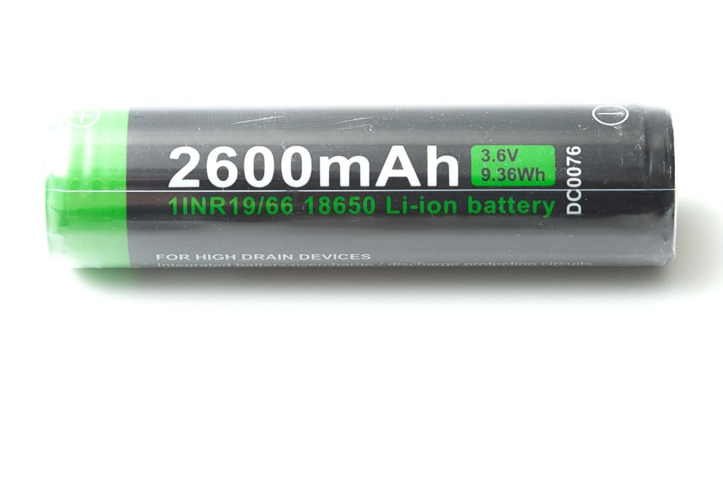2600 nextorch battery