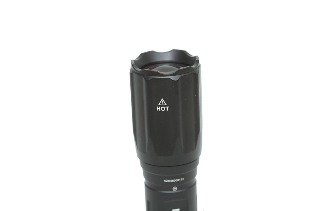 head of the flashlight