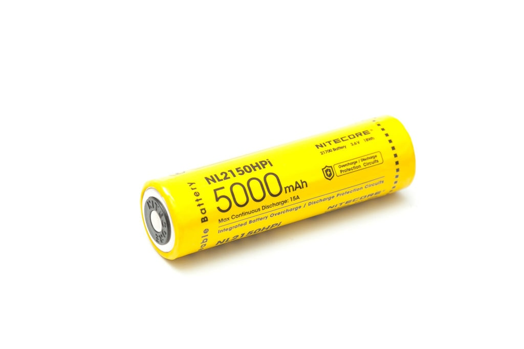 Nitecore NL2150HPi battery with protection