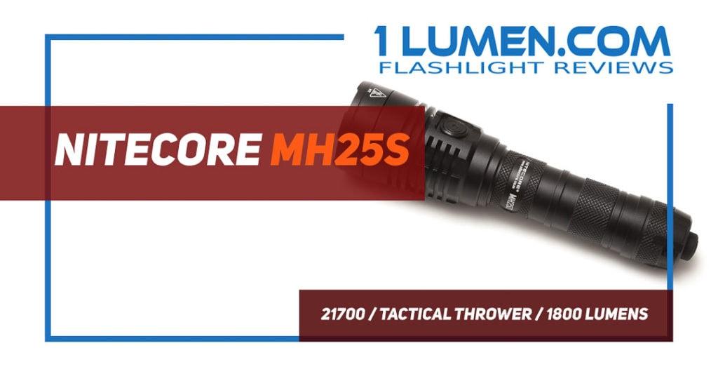 Nitecore MH25S review