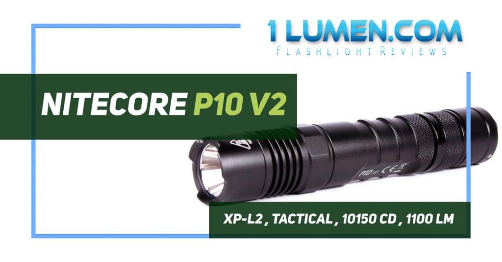 Nitecore P10 v2 review image