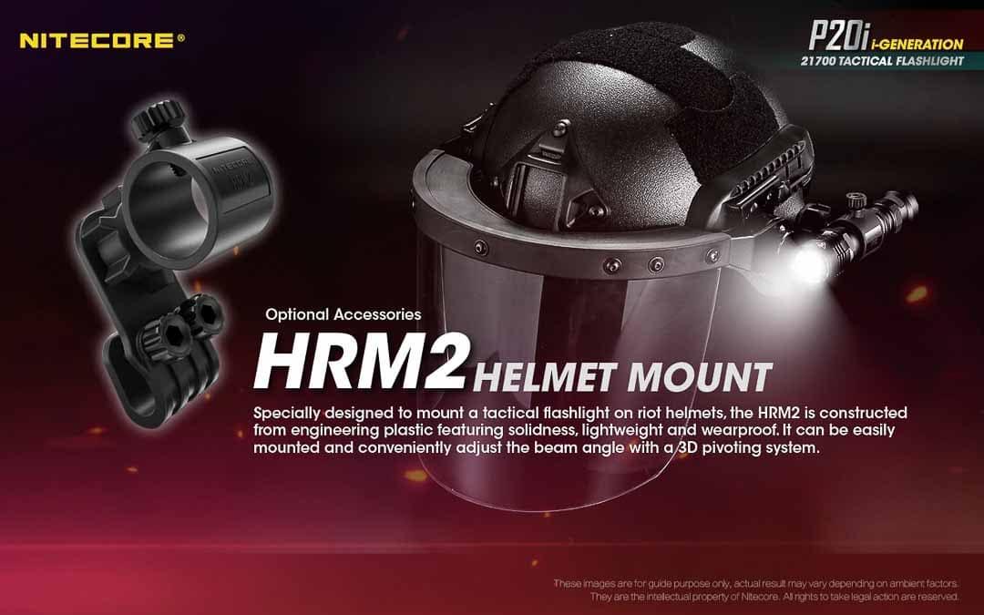 Wuben E12R helmet mount