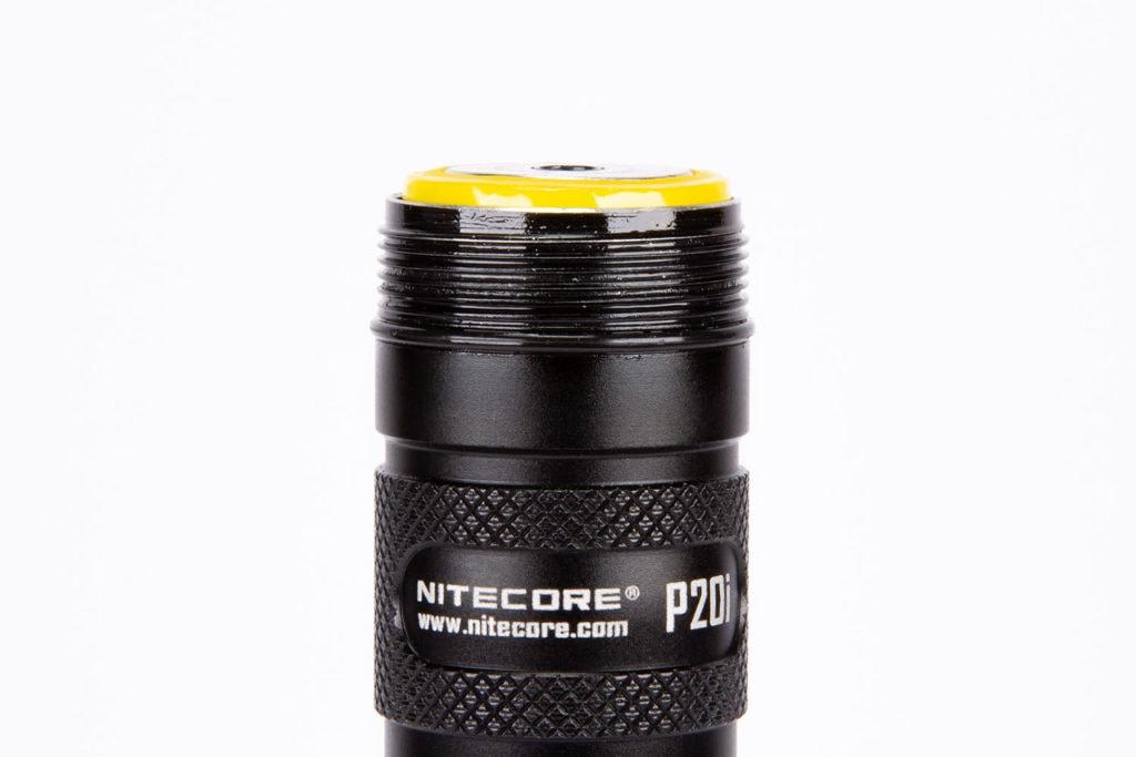 Nitecore P20I threads