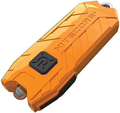 cheap orange nitecore flashlight