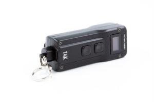 nitecore T4K flashlight with clip