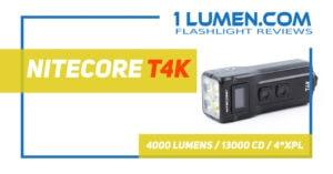 nitecore T4K review
