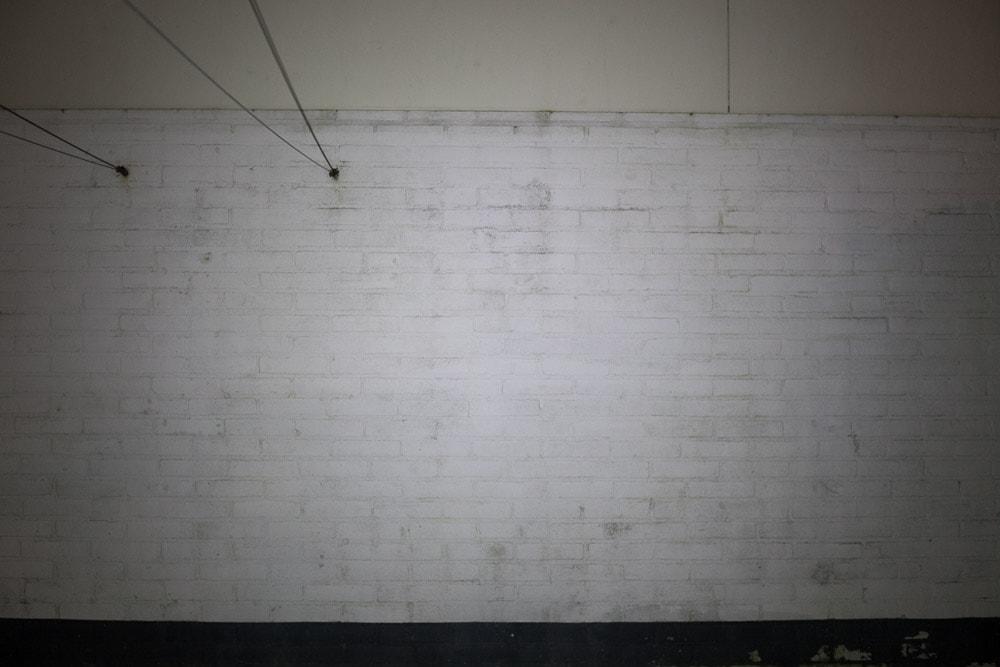 Nitecore beam on wall