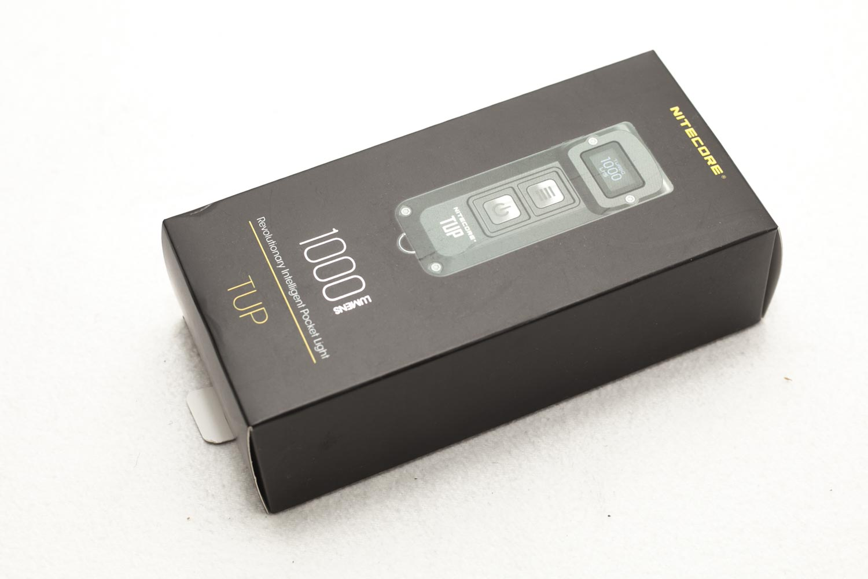 Nitecore TUP black package