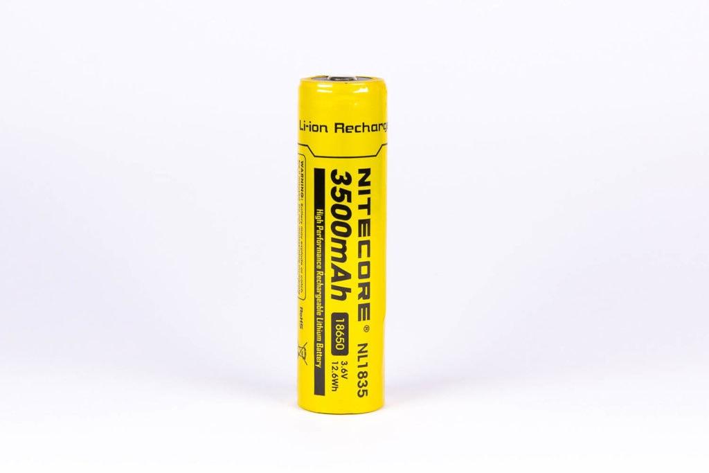 Nitecore P10 v2 battery 3500mAh