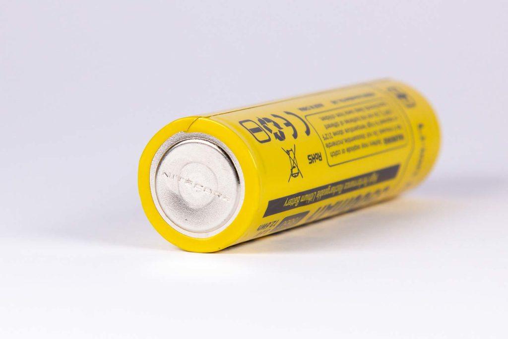 Nitecore P10 v2 battery