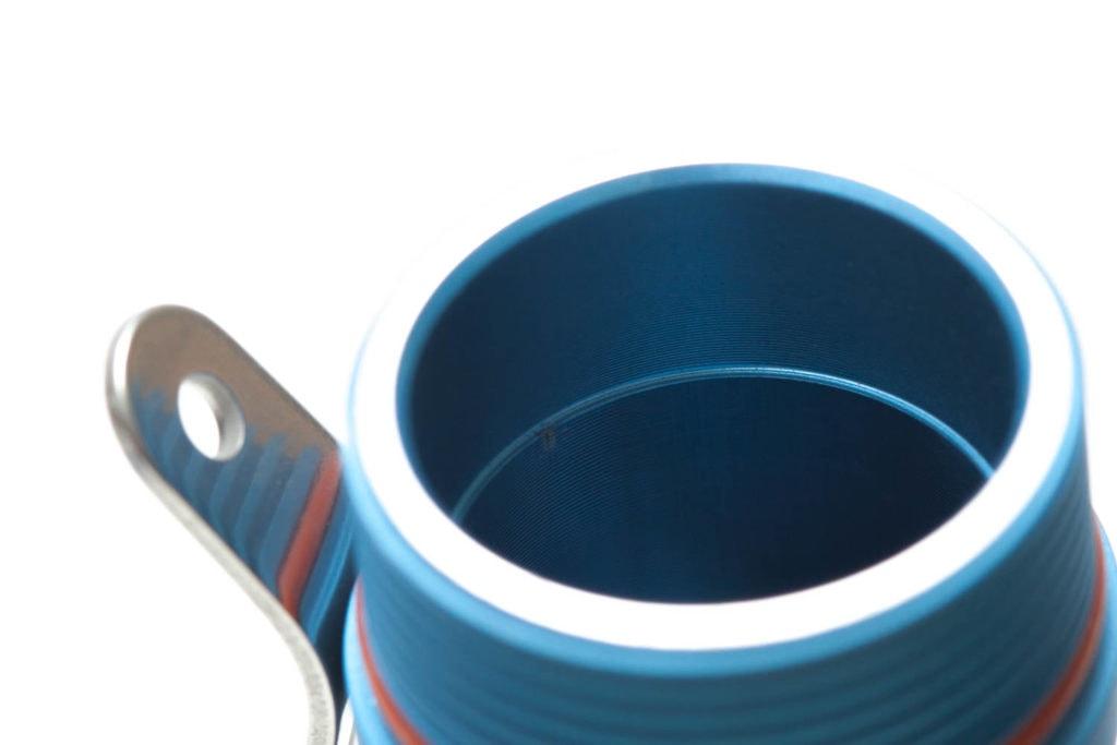 inside the battery tube