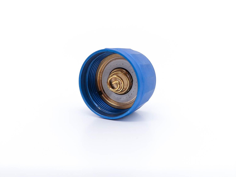 blue tailcap