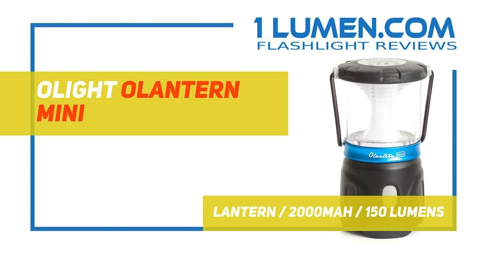 Olight olantern mini review