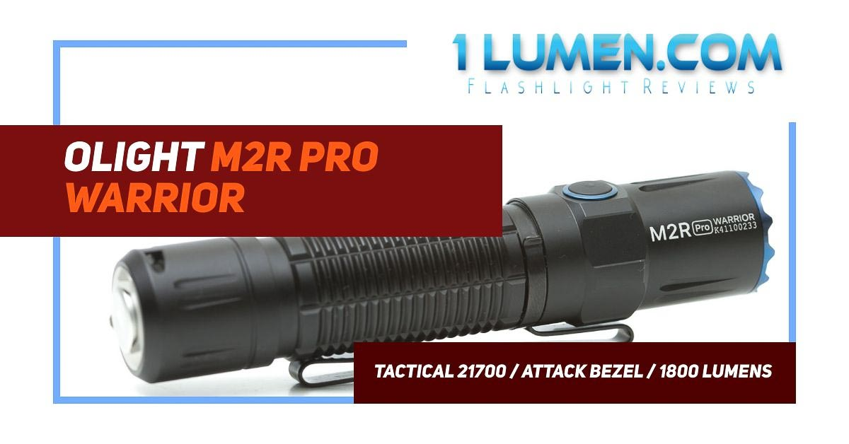 Olight M2R pro warrior review