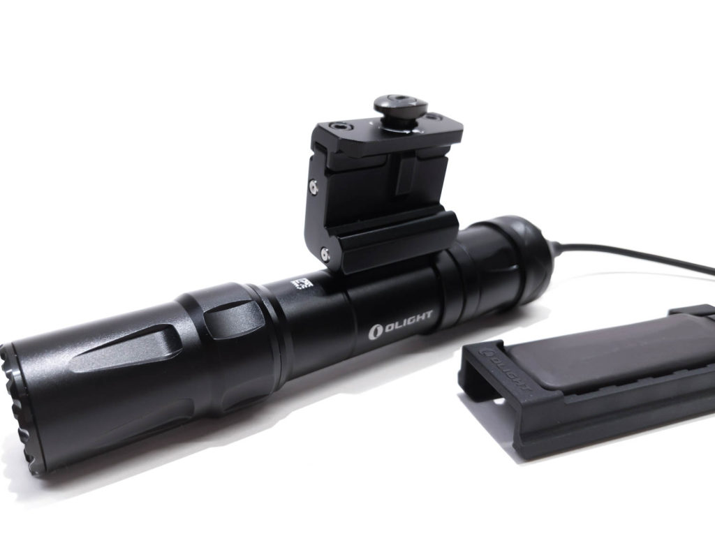 Oilght flashlight with gun mount