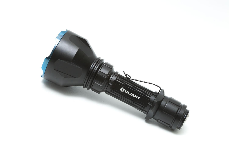olight flashlight on white background