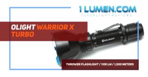 Olight warrior X Turbo review image