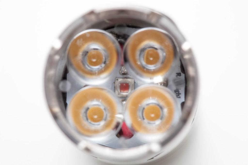 quatro LED Nichia 219C