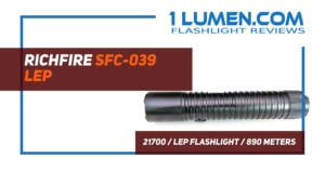 Richfire LEP flashlight