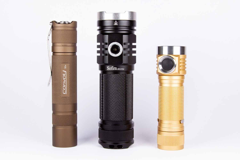 3 edc flashlights