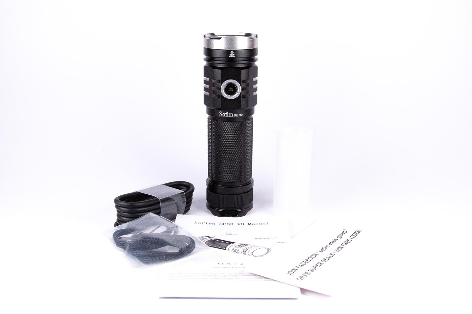 Sofirn SP33 v3 accessories