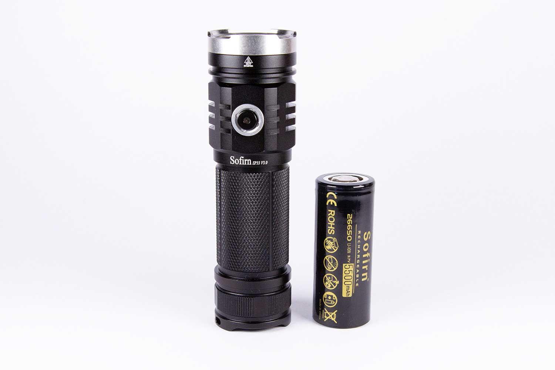 Sofirn SP33 v3 battery
