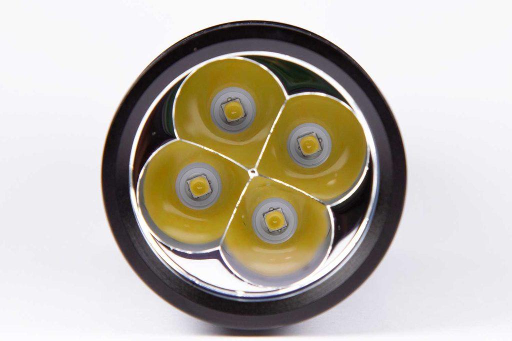 Sofirn SP36 reflectors