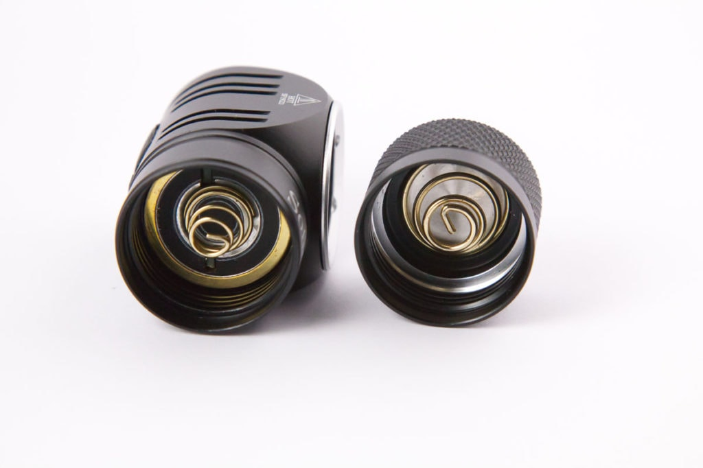 springs in tailcap and driver