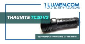Nitecore TC20 v2 review