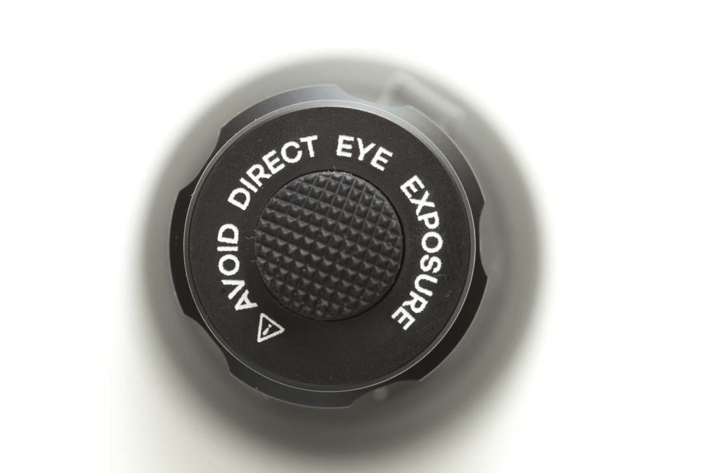 avoid direct eye exposure warning