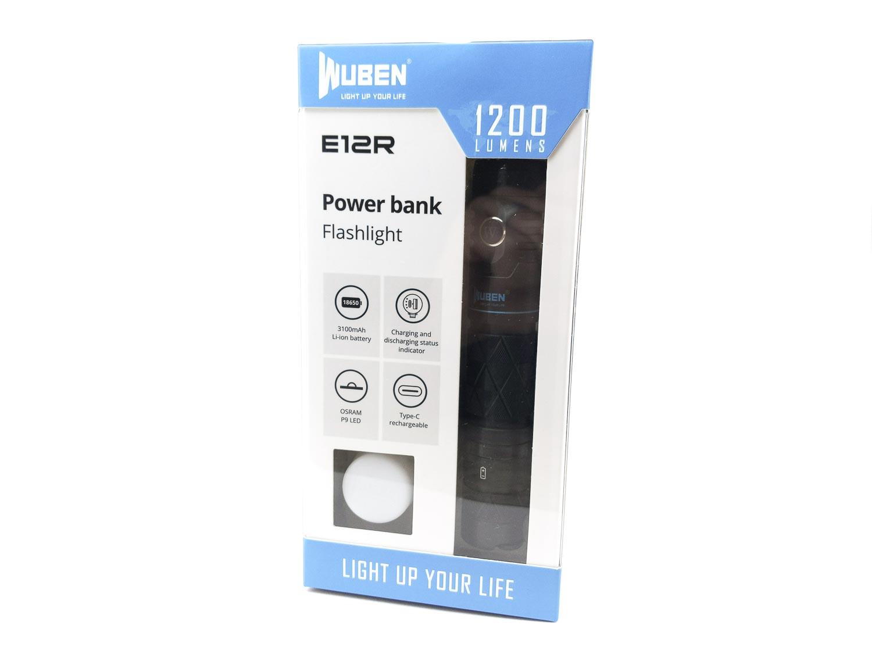 Wuben E12R box