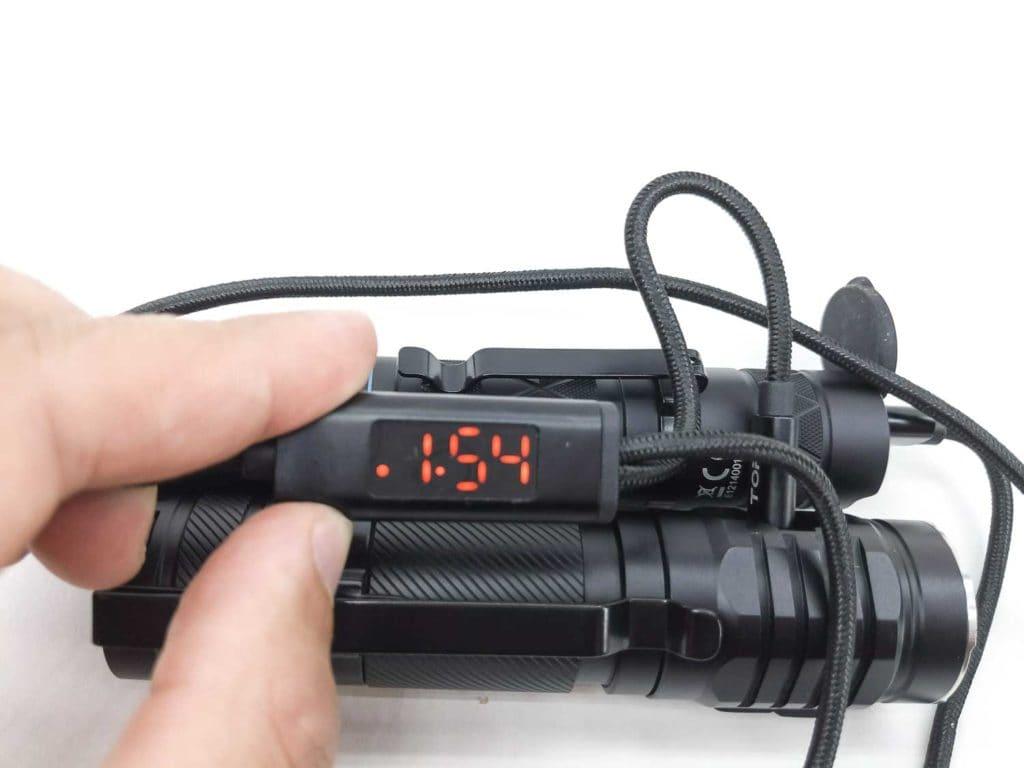Wuben E12R charging
