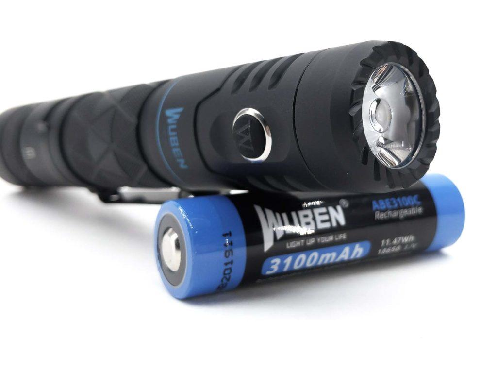 Wuben E12R bezel and reflector