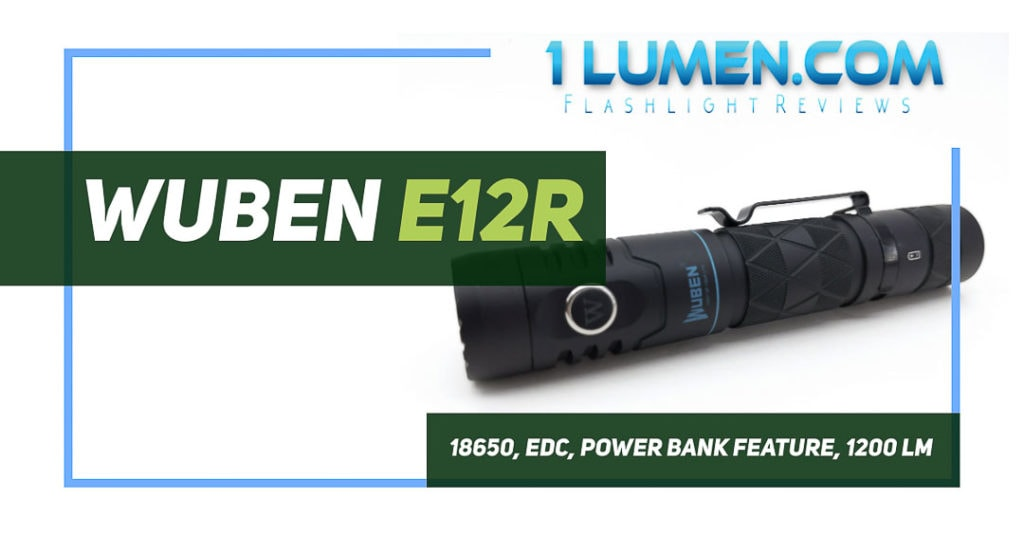 Wuben E12R review image