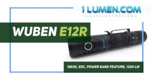Wuben E12R review image