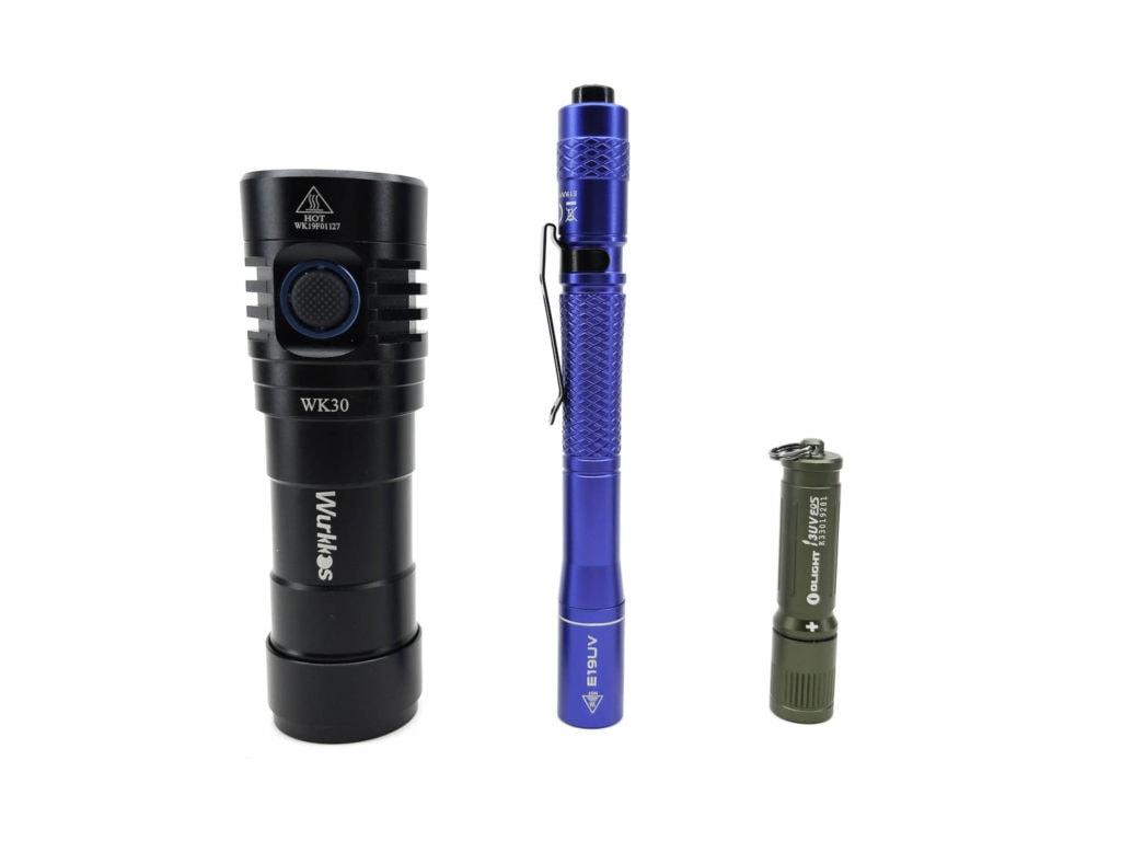 Wuben E19 UV size comparison
