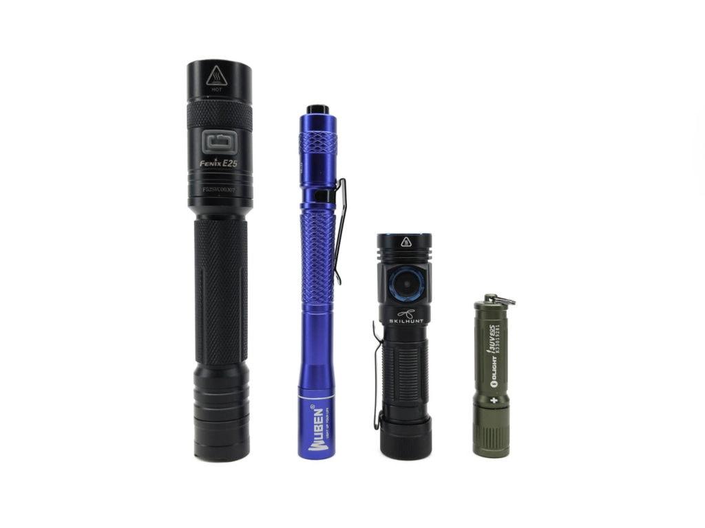 Wuben E19 UV compared