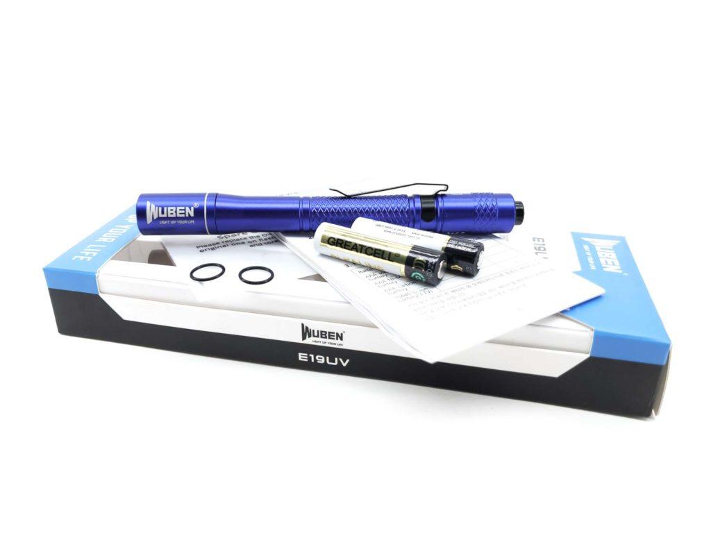 Wuben E19 UV box