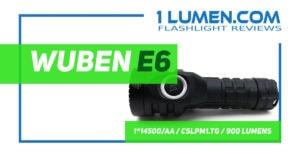 Wuben E6 review