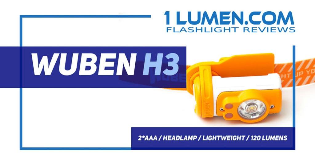 Wuben H3 review
