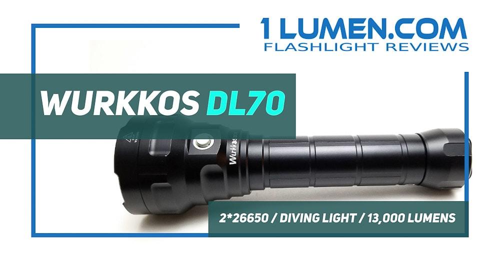 Wurkkos DL70 review